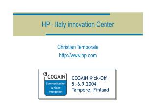 HP - Italy innovation Center