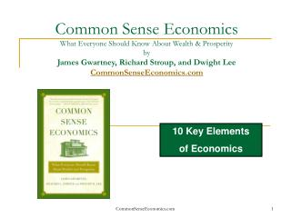 10 Key Elements  of Economics