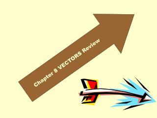 Chapter 8 VECTORS Review