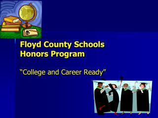 Floyd County Schools Honors Program