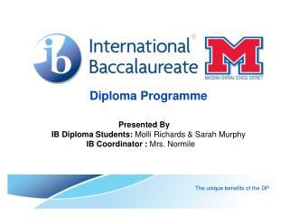 Diploma Programme