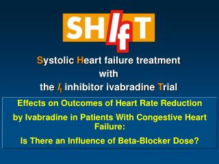 Effects on Outcomes of Heart Rate Reduction
