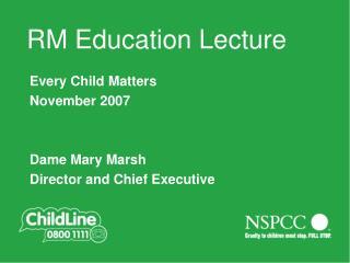 Main title slide