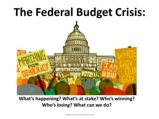 The Federal Budget Crisis: