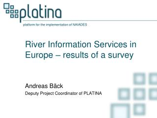 River Information Services in Europe – results of a survey