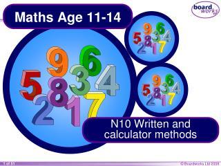 Maths Age 11-14