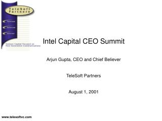 Intel Capital CEO Summit