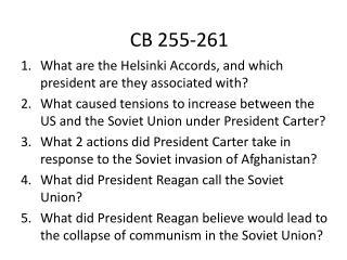 CB 255-261