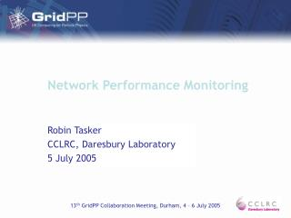 Network Performance Monitoring