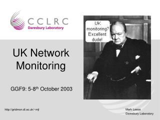 UK Network Monitoring