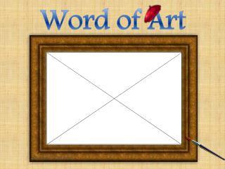 Word of Art