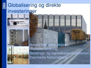 Globalisering og direkte investeringer