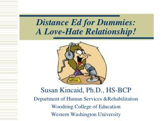 Distance Ed for Dummies:  A Love-Hate Relationship!