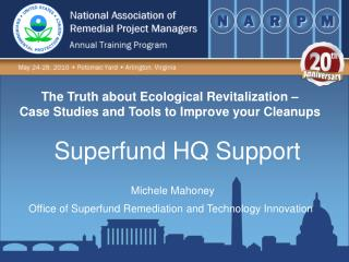 The Truth about Ecological Revitalization –  Case Studies and Tools to Improve your Cleanups