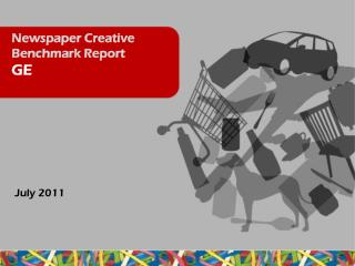 Newspaper Creative Benchmark Report  GE