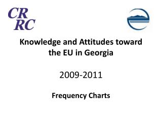 Knowledge and Attitudes toward the EU in Georgia 2009-2011 Frequency Charts