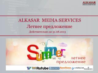 ALKASAR  MEDIA SERVICES