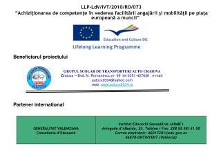 LLP-LdV/IVT/2010/RO/073