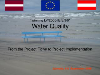 Twinning LV/2005-IB/EN/01 Water Quality
