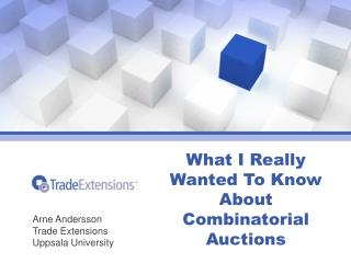 What I Really Wanted To Know About Combinatorial Auctions