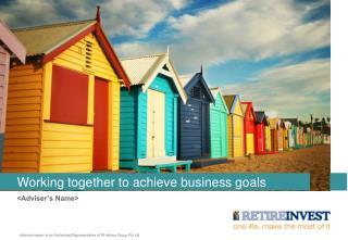 Working together to achieve business goals