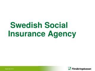 Swedish Social Insurance Agency
