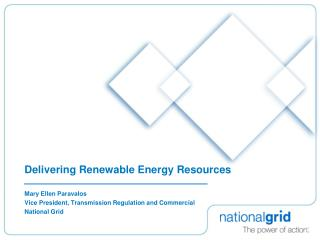 Delivering Renewable Energy Resources