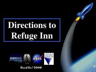 Directions to Refuge Inn