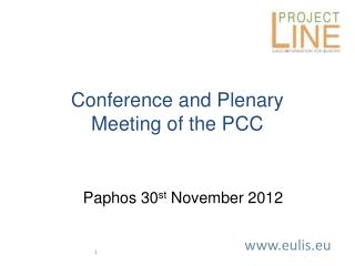 Conference and Plenary  Meeting of the PCC