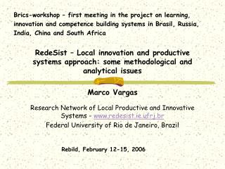 Brics-workshop – first meeting in the project on learning,