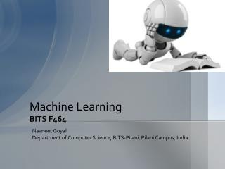 Machine Learning BITS F464