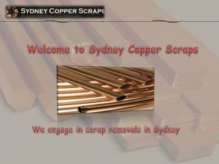 Get the maximum money value for the scrap copper you have
