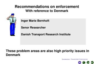 Recommendations on enforcement With reference to Denmark
