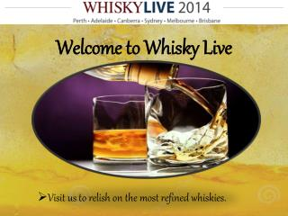 Explore Whisky Tasting Fest in Brisbane