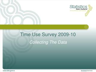 Time Use Survey 2009-10