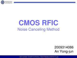 CMOS RFIC Noise Canceling Method