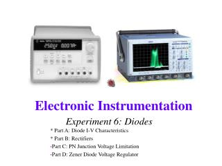 Experiment 6: Diodes