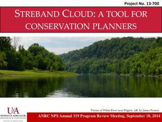 Streband Cloud:  a tool for conservation planners