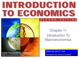 Chapter 11 Introduction To Macroeconomics