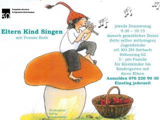Eltern Kind Singen mit Yvonne Roth