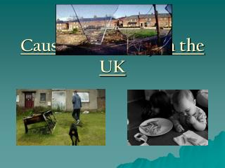 Causes of Poverty in the UK