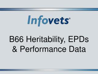 B66 Heritability, EPDs & Performance Data