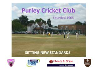 Purley Cricket Club