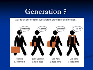 Generation ?