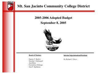 Mt. San Jacinto Community College District