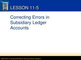 LESSON 11-5