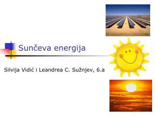 Sunčeva energija