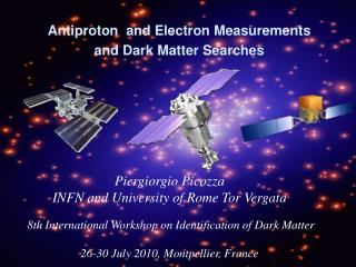 Antiproton  and Electron Measurements and Dark Matter Searches