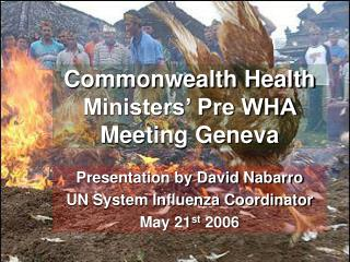 Commonwealth Health Ministers' Pre WHA Meeting Geneva