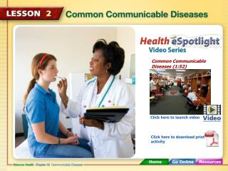 Common Communicable Diseases (1:52)